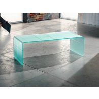 Coffee table, for living room, Checkmate, engraved and satin, colors: white - black. Dimensions L 100 P 40 H 33. Made in Italy.