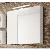 Mobile, Bathroom Furniture, Mirror with chrome led lamp , KL128.