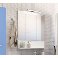 Mobile, Bathroom Furniture, Mirror with chrome led lamp , KL129.