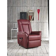 Armchair with lift, declinatore and electrical footboard. Monica