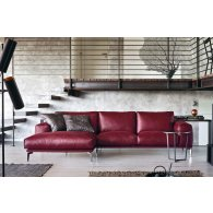 Promotion Sofa with 2 side seats maxi + peninsula 150 cm. Atlantic.