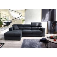 Promotion Sofa with 2 side seats + reversible peninsula 160 cm. Florida